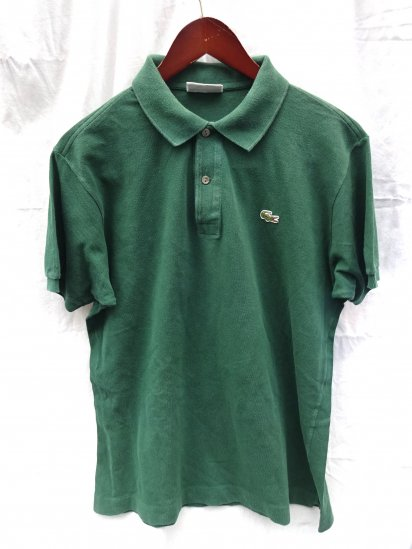 80's〜 Vintage Made in France Lacoste Polo Shirts  / 51