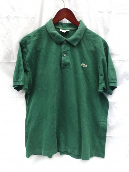 80's〜 Vintage Made in France Lacoste Polo Shirts  / 52