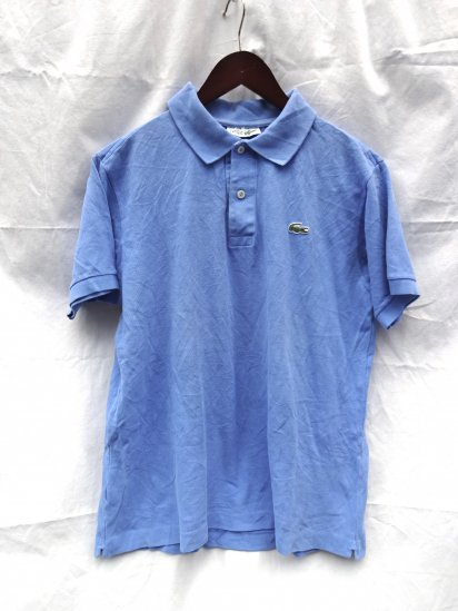80's〜 Vintage Made in France Lacoste Polo Shirts  / 54
