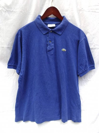 80's〜 Vintage Made in France Lacoste Polo Shirts  / 55