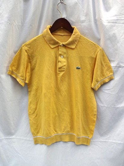 60〜70's  Vintage Made in France Lacoste Polo Shirts