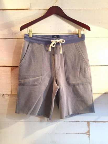 J.Crew Sweat Cut Off Shorts<BR>SPECIAL PRICE!! 3,480 + Tax