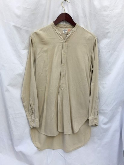 40-50's Vintage Taylor Made Officer Shirts Khaki