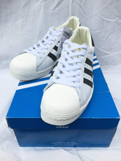 adidas SUPERSTAR BOOST Leather White x Black