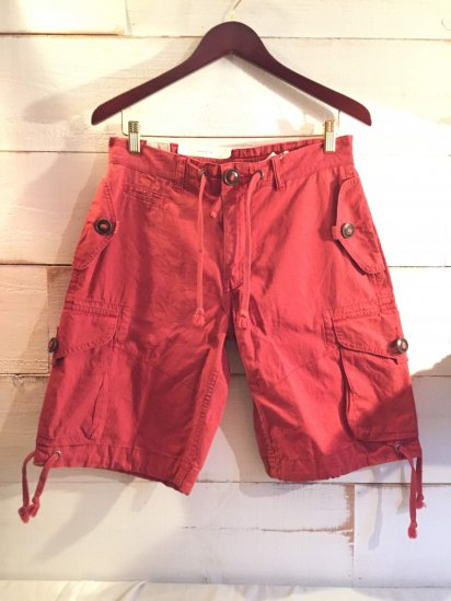 Ralph Lauren Military Type Cargo Shorts<BR>SALE!! 6,800 + Tax → 3,800 + Tax