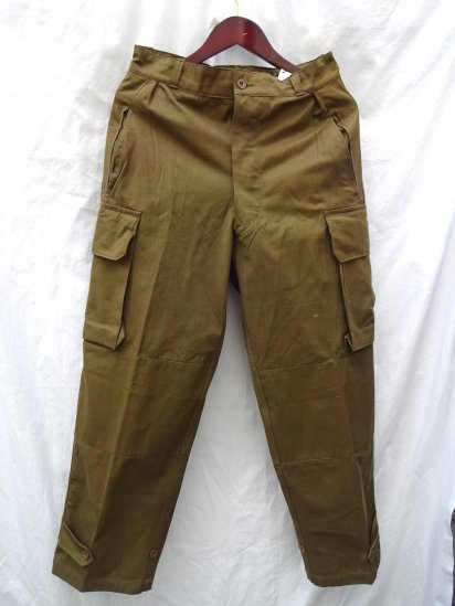 50-60's Vintage Dead Stock French Army M-47 Trousers / 1