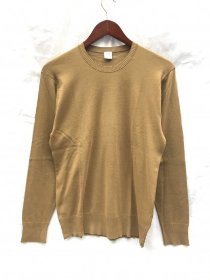 Gicipi Cotton Knit Made in Italy Cafe Brown