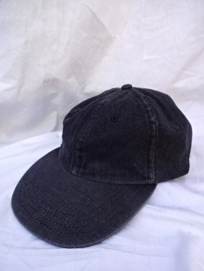 90's〜Old Dead stock BEECHFIELD Baseball Cap Black Denim