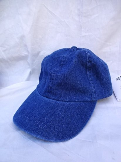90's〜Old Dead stock BEECHFIELD Baseball Cap Denim