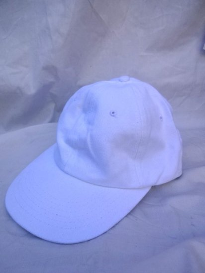 90's〜Old Dead stock BEECHFIELD Baseball Cap Twill White