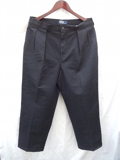 90's OLD Ralph Lauren Chino Pants Mint Condition Black / 1