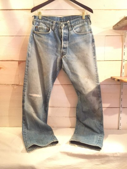 80's Vintage Levi's 501 Red Line Made in U.S.A / 5