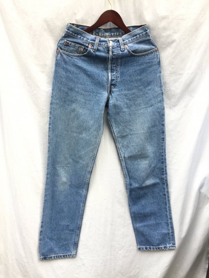 90's Levi's 597 Made in UK Indigo