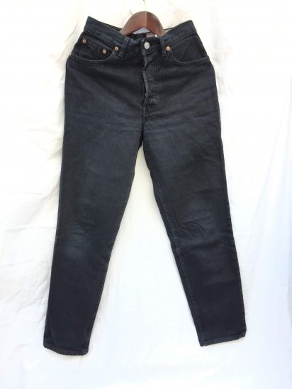 90's Levi's 901 Made in USA Black