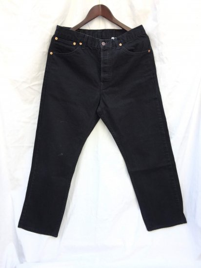 90's Levi's 522 Made in Spain Black