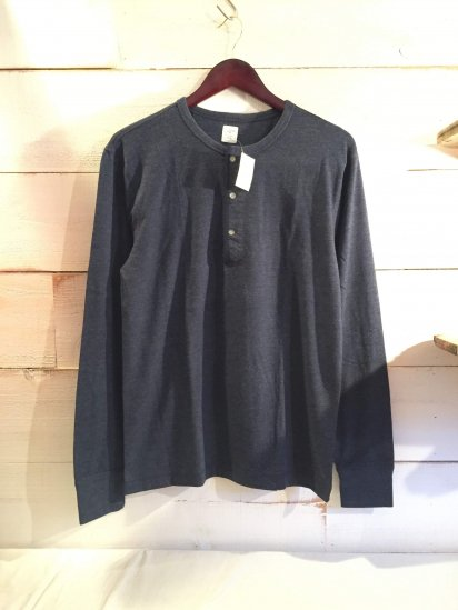 J.Crew Henley Neck Shirts Navy<BR>SPECIAL PRICE !! 3,800 + Tax
