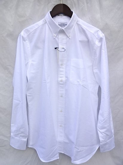 GAMBERT CUSTOM SHIRT Oxford B.D Shirts MADE IN U.S.A White