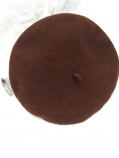 LE BERET FRANCAIS MADE IN FRANCE Brown