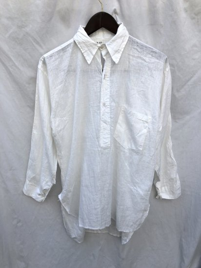 40's Vintage Australian Army Officer Shirts White