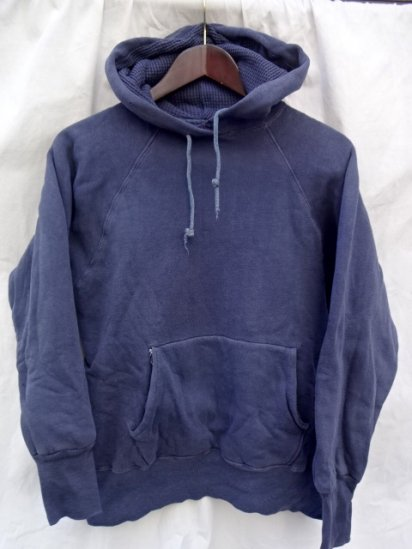 60's Vintage Sweat Parka NAVY