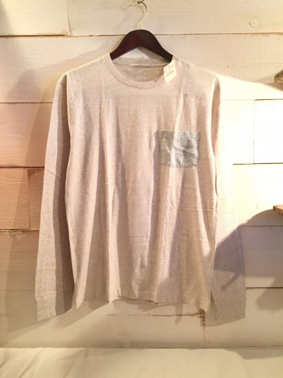 J.Crew Slim Fit 2 Tone Pocket L/T Beige<BR>SPECIAL PRICE !! 2,500 + Tax