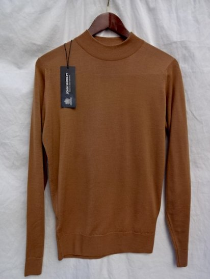John Smedley Extra Fine Merino Wool Knit HARCOURT PULLOVER Made in England