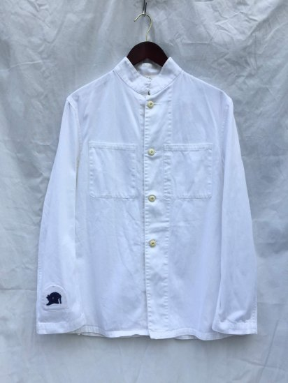 50-60's Vintage Royal Navy Officer Tunic White / 7