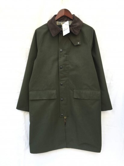 Barbour New Burghley Jacket Olive