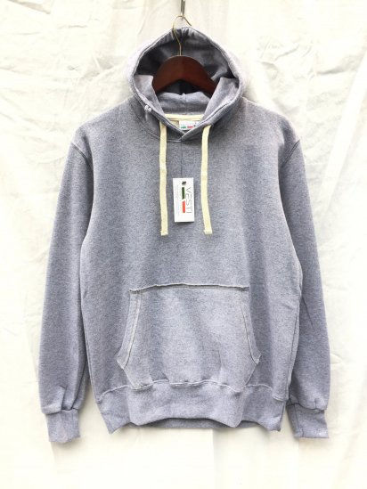 VESTI Sweat Hoodie Made in Italy Gray
