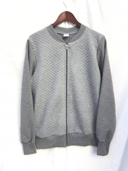 VESTI Zip Sweat Shirts Made in Italy Gray