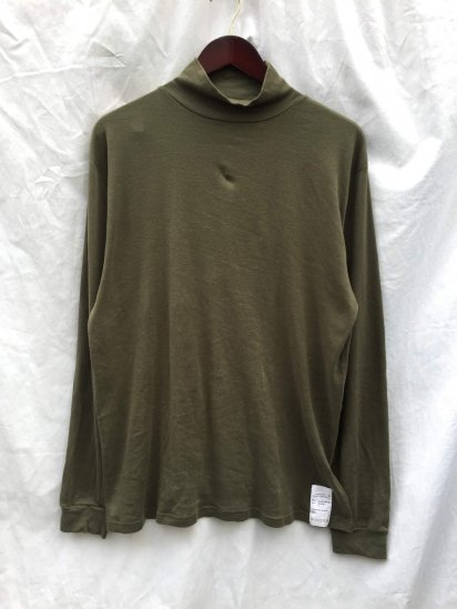 00's Air Crew (Royal Air Force) Roll Neck L/T Olive / 1