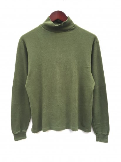 80's 〜 Air Crew (Royal Air Force) Roll Neck L/T Olive / 2