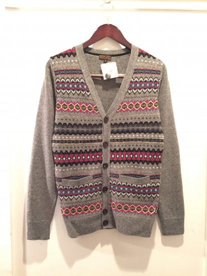 Barbour BEACON BRAND Fair Isle Knit Cardigan<BR>SPECIAL PRICE 7,500 + Tax