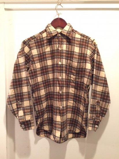 70's Vintage PENDLETON Wool Shirts MADE IN USA / 9