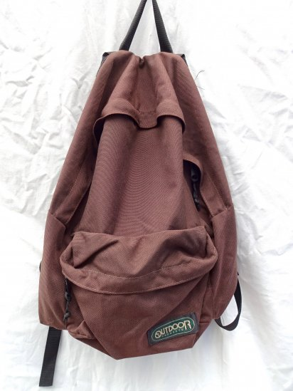 80~90's Vintage Outdoor Products Backpack MADE IN U.S.A/2