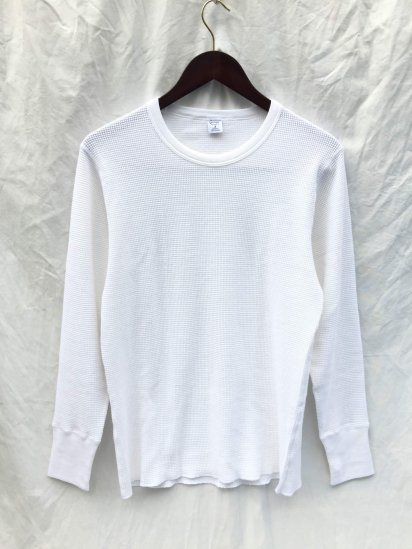 Gicipi Cotton Knit Made in Italy GrayGicipi Cotton Heavy Waffle Crew Neck L/T Made in ITALY White