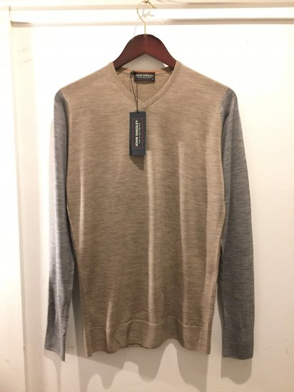 John Smedley OLD TAG Extra Fine Merino Wool MEASHAM PULLOVER Made in England