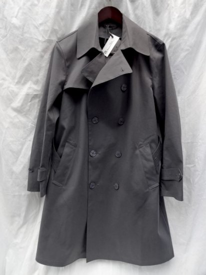 Mackintosh by Francis Campelli Trench Coat Made in Ireland exclusively for Illminate Charcoal