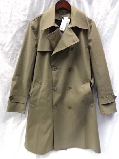 Mackintosh by Francis Campelli Trench Coat Made in Ireland exclusively for Illminate Olive