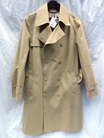 Mackintosh by Francis Campelli Trench Coat Made in Ireland exclusively for Illminate Camel