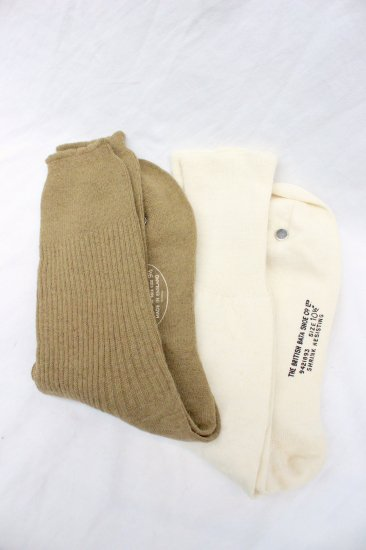 50-60's Vintage Dead Stock British Military Socks