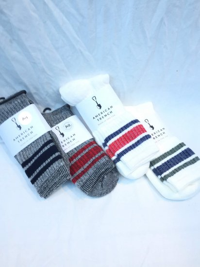 AMERICAN TRENCH Merino Activity Sock Made in U.S.A