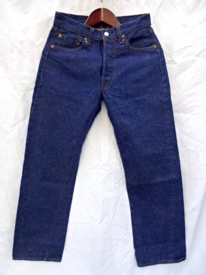70〜80's Vintage LEVI'S 501 66 後期 MADE IN U.S.A Mint Condition Indigo