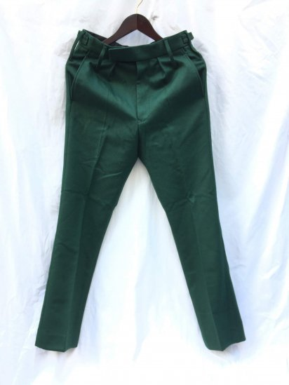 Dead Stock British Army RDG(Royal Dragoon Guards) No.2 Dress Trouserse Green / 1