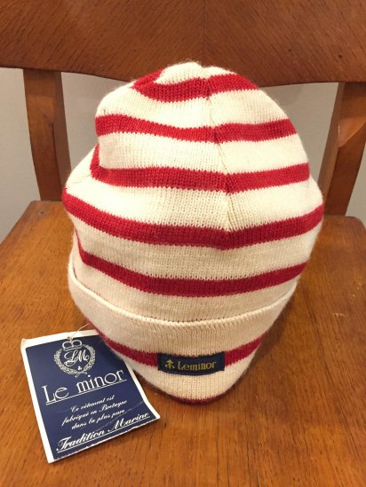 Le minor Wool Knit Cap Made in France