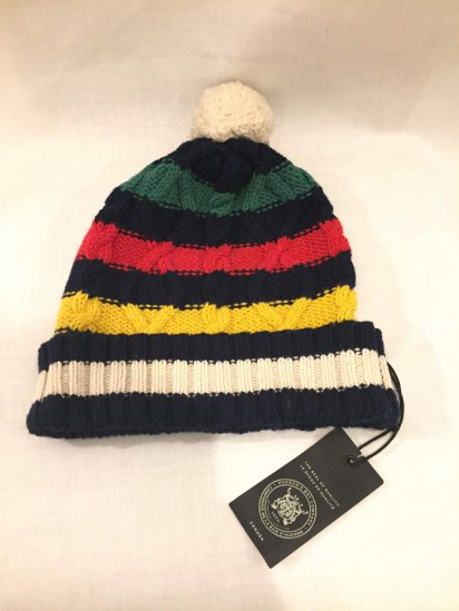 HUDSON'S BAY COMPANY Wool Knit Cap<BR>SPECIAL PRICE! 3,000 + Tax