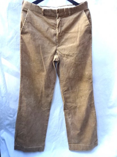 90's〜 Old USA Corduroy Trousers Camel
