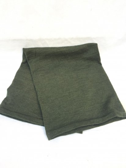Dead Stock British Army Wool Headover (Neck Warmer) Olive