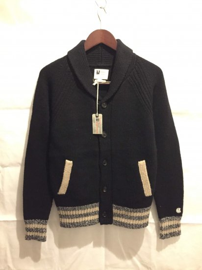 Todd Snyder x Champion Wool Knit Shawl Collar Cardigan<BR>SPECIAL PRICE!! 12,800 + Tax