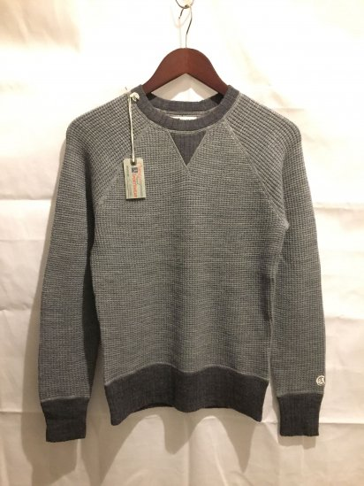 Todd Snyder x Champion Wool Waffle Knit Sweat Type Sweater <BR>SPECIAL PRICE!! 9,800 + Tax